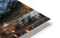 Tapis de feuille HD Metal print