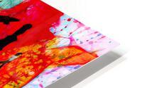 Saxophone Electrified HD Metal print