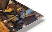 Egon Schiele - Crescent of Houses HD Metal print