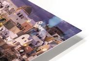 Santorini Sunset HD Metal print