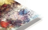 A natural collision of rocks HD Metal print