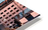 San Francisco City Scene HD Metal print