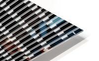 Black and White Skyscraper Windows Impression metal HD