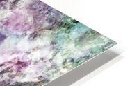 The quiet purple clouds HD Metal print