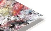 Thermal fractures HD Metal print