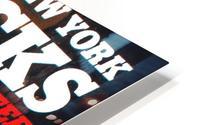 1980 new york knicks poster bill cartwright cedric maxwell HD Metal print