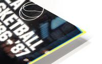 1986 ucla basketball reggie miller poster HD Metal print