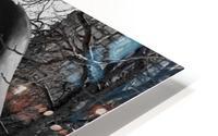 Two Large Forms at Grange Park 2 HD Metal print