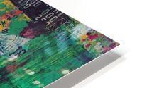 1975 world series program cover leroy neiman wall art HD Metal print