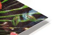 Folding Poppy HD Metal print