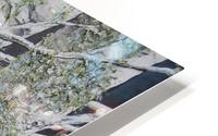 Snowdust in Spring HD Metal print