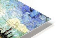 Ploughed Field by Van Gogh HD Metal print