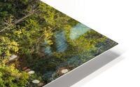 A waterfall on the river Tawe HD Metal print