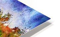 Sunset Autumn Color In Umbria HD Metal print