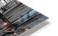The Old Alleyways HD Metal print