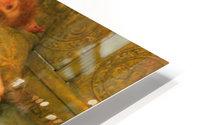 A favorite poet by Alma-Tadema HD Metal print