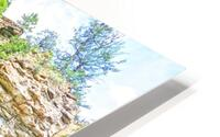 Rocky Mountain Rapids and Waterfalls 5 of 8 HD Metal print