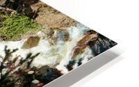 Rocky Mountain Rapids and Waterfalls 4 of 8 HD Metal print