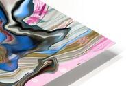bluepour HD Metal print
