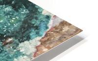 Green Geode HD Metal print