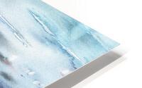 Beach House Art Sailboats At The Ocean Shore Seascape Painting XII HD Metal print
