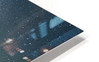 Milky Way Above The Badlands HD Metal print