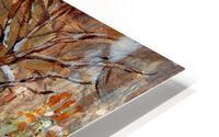 MONTREAL WINTER SCENE MCGILL WINTER WALK NEAR RODDICK GATES HD Metal print