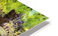 CAMBODIA Angkor Wat oil painting in Vincent van Gogh style. 141 HD Metal print
