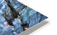 Blue Face HD Metal print