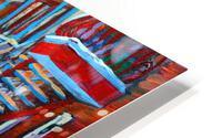 HOCKEY ON DEBULLION MONTREAL WINTER SCENE HD Metal print