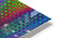 psychedelic wave HD Metal print