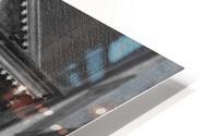 French Quarter Lamp Light HD Metal print