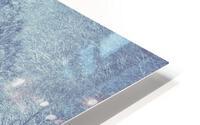 Snowy landscape HD Metal print