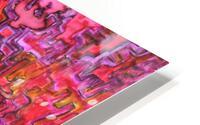 RANDOM HD Metal print