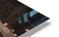 Clinker-built Rowboat HD Metal print