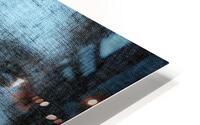 Un regard bleu - A Blue Gaze HD Metal print
