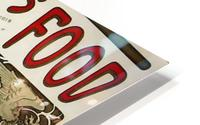 Nestle by Alphonse Mucha HD Metal print