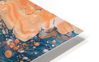 Coral Reef Abstract HD Metal print