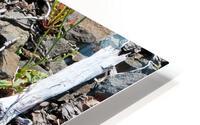 Sticks and Stones HD Metal print