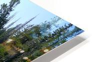 Sawtooth Lake HD Metal print