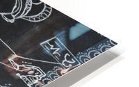 Warli Art Depicting multitask HD Metal print