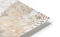 calligraphy horse  HD Metal print