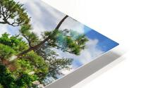 Garden Waterfall HD Metal print