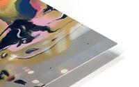 One in Vermillion HD Metal print