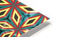Colorful pattern HD Metal print