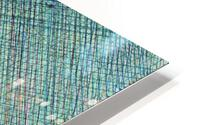 Greenblocks HD Metal print
