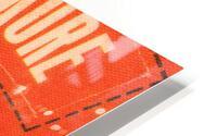 1969 Baltimore Orioles Fleer Cloth Patch Art | Row 1 HD Metal print