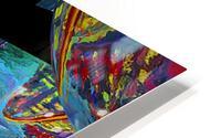 EXTREME Roller Coaster RoomXpander tm Tracking Art HD Metal print
