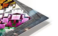 What Dreams Are Made Of GeomatCLR WQ FRAME Fractal Art Cuboid Portrait HD Metal print