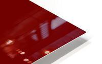 NO GUARANTEE blood red by Lenie Blue HD Metal print
